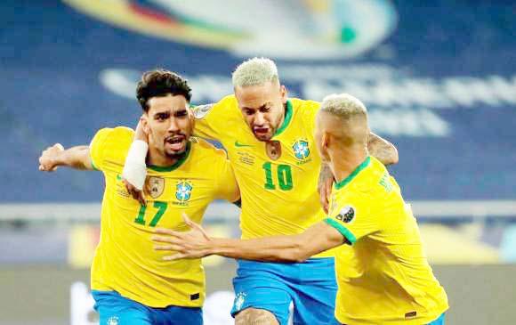 BRASIL AVANZÓ A LA FINAL DE LA COPA AMÉRICA