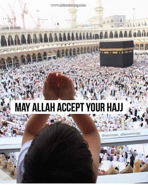 accept our hajj child saying