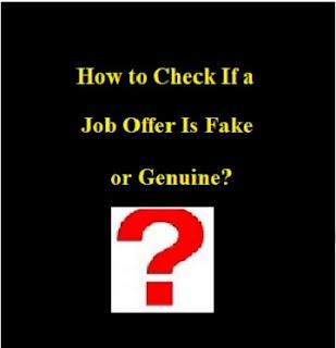 fake job in dubai