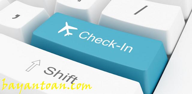 Check in online khi đi máy bay là gì?