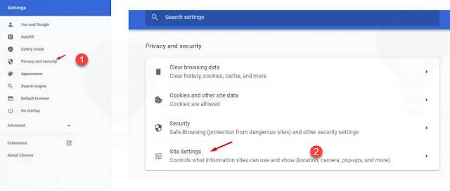 ايقاف اشعارات جوجل كروم على ويندوز 10