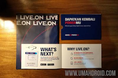 Unboxing Kartu XL Live On