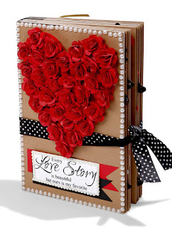 Gift for Lover - Romantic Love Scrapbook