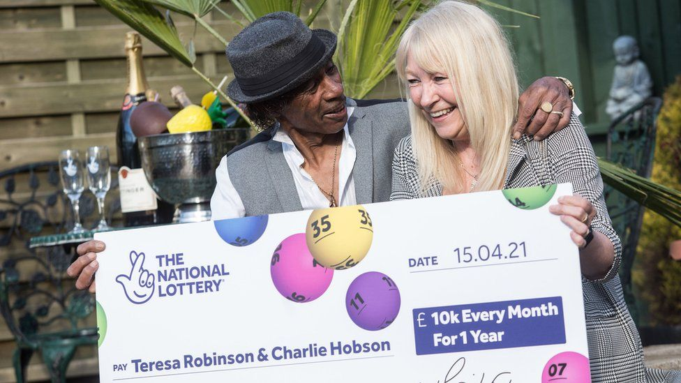 A nurse who has worked throughout Covid pandemic plans to retire after winning a lottery