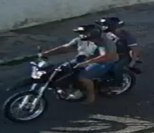 POLÍCIA CIVIL DIVULGA IMAGENS DE DUPLA ACUSADA DE MATAR HOMEM DE 26 ANOS