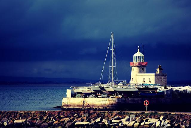 Lighthouse Howth, Ireland Peninsula