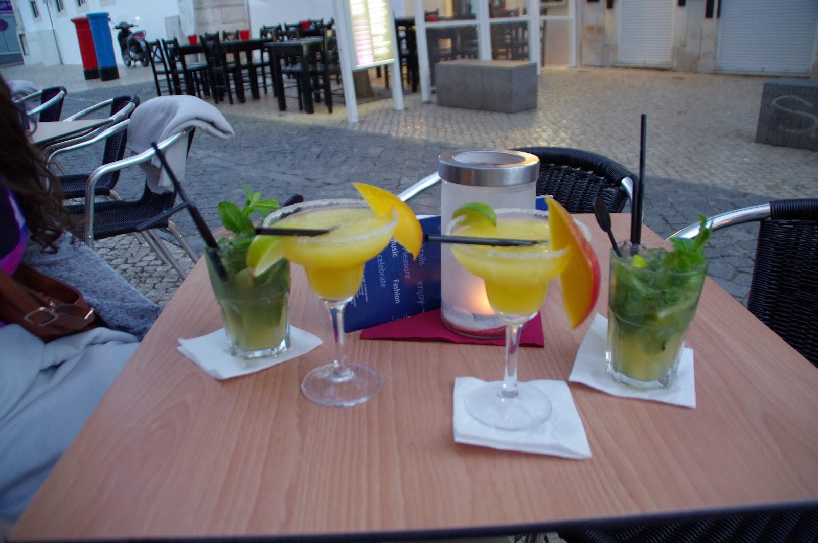 Cocktails in Lagos Algarve