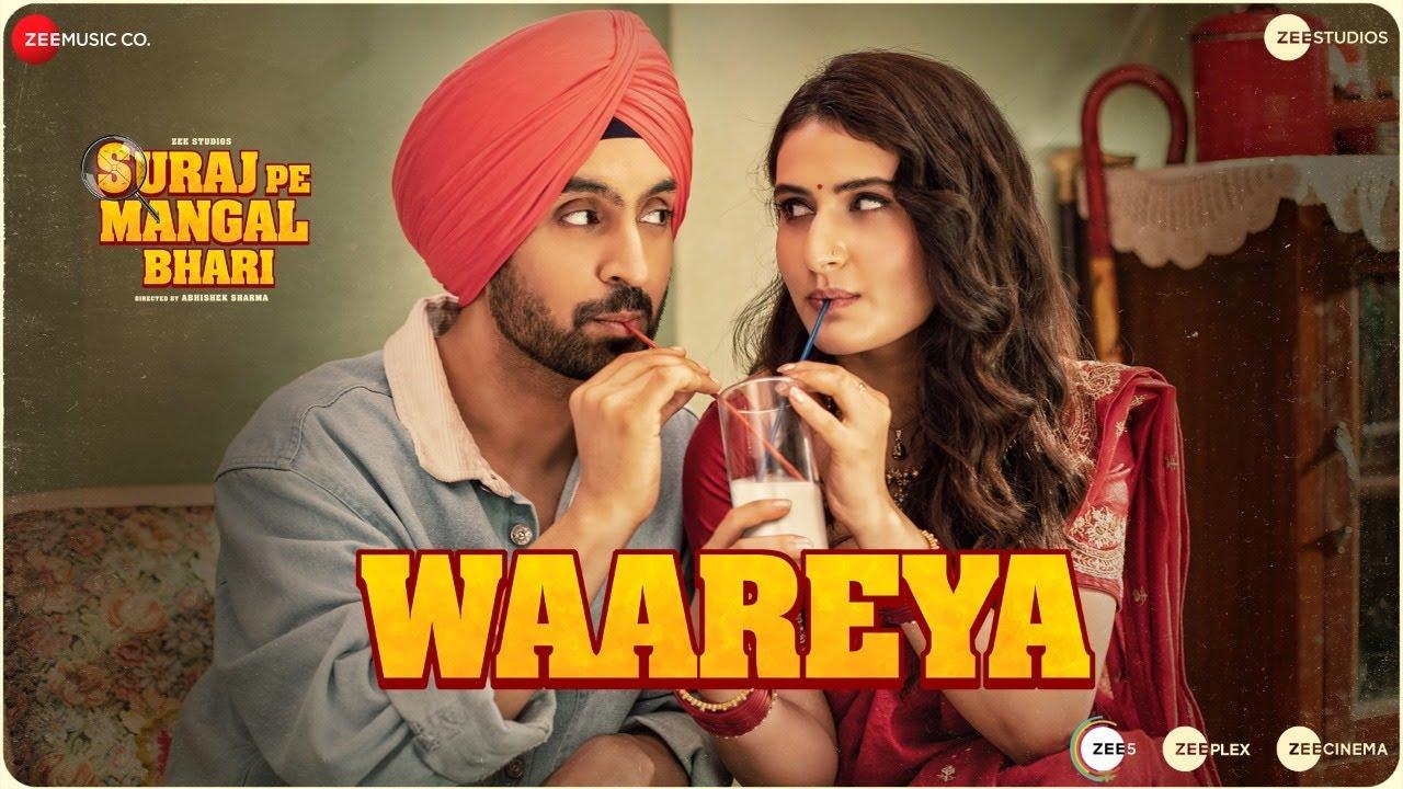 Waareya Lyrics Suraj Pe Mangal Bhari   Javed Mohsin X Vibhor Parashar   Diljit