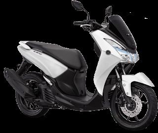 Yamaha Lexi 125, Pilihan Warna Yamaha Lexi White