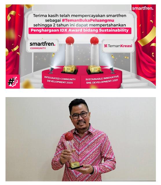 Smartfren Raih Penghargaan