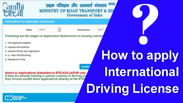 How to Obtain an International Driving License in Assam?