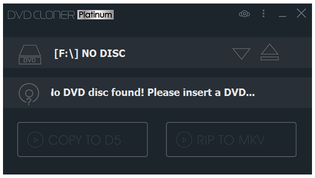 Screenshot DVD-Cloner Platinum 2019 v16.60 Build 1450 Full Version