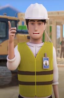 Ilustrasi petugas  menggunakan atribut kelengkapan alat pelindung diri atau APD