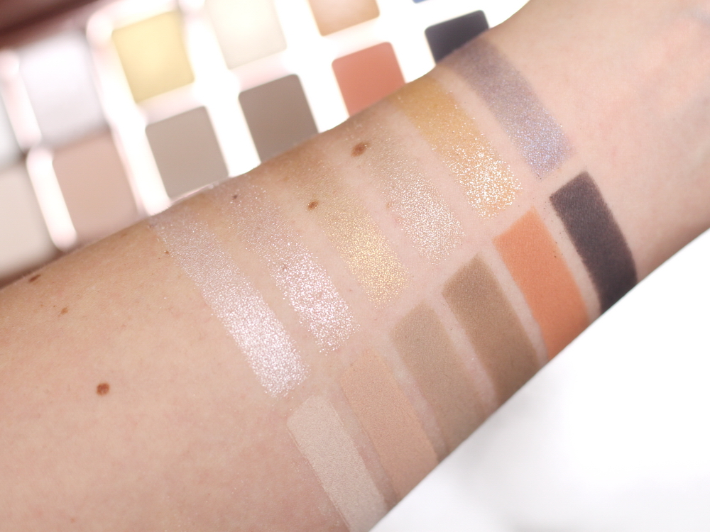 Laura Mercier Gilded Artistry Eyeshadow Swatch