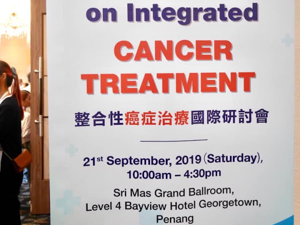 Taiwan-Malaysia Medical Exchange: International Conference on Integrated Cancer Treatment