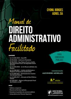 Download Manual de Direito Administrativo Facilitado (2018) PDF - Cyonil Borges e Adriel Sá