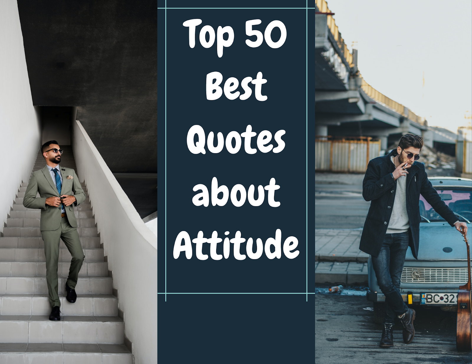 Top 50 Best Quotes about Attitude