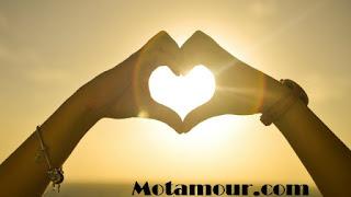 amour carte Alors que nous sommes séparés coeurs