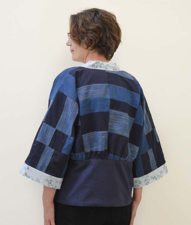 Learn how to use repurpose button down shirts, using a pattern, to make a kamino. Vicky Myers Creations