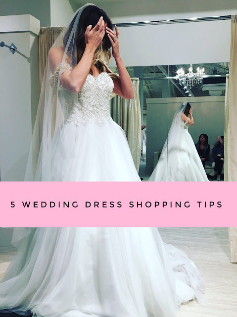 Sand and Sequins: 5 Wedding Dress Shopping Tips