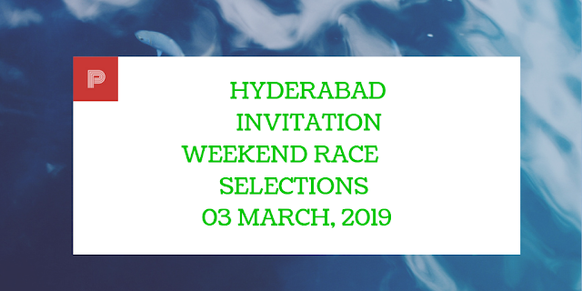 Hyderabad Invitation Weekend Races 3rd March,2019