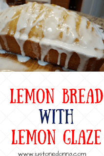 Lemon Bread with Lemon Glaze