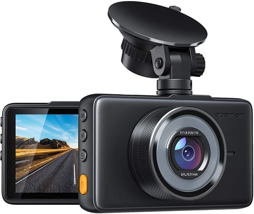 Review APEMAN C450 Dash Cam FHD DVR Car