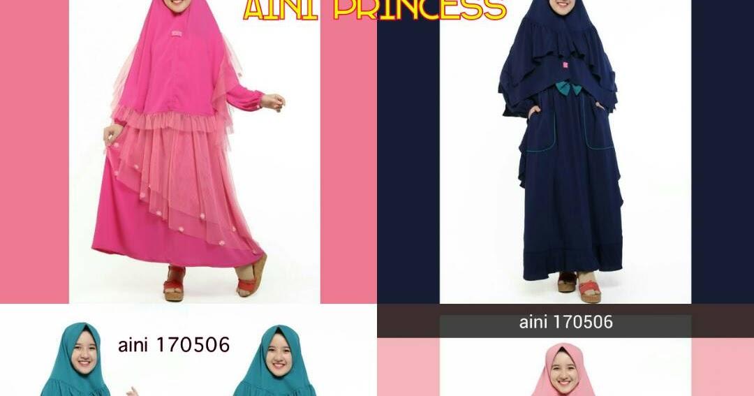 Koleksi Baju Gamis Pesta Anak Aini Terbaru 2017