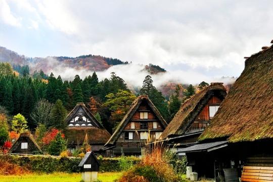 Shirakawa-go, Gifu, Jepang