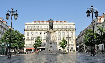 Plaza Luis de Camoes - Lisboa