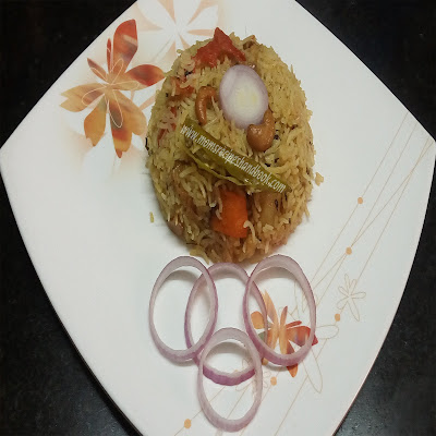 Vegetable Fried Rice Recipe with Kasuri methi Andhra Style