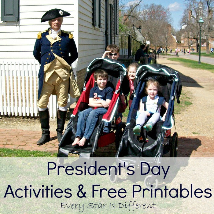 President's Day Activities & Free Printables