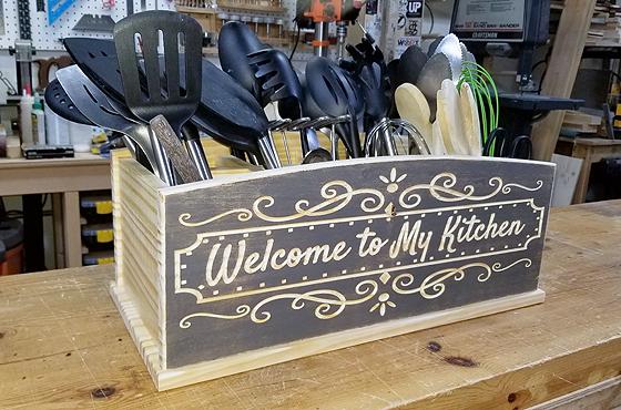 Kitchen Utensil Organizer