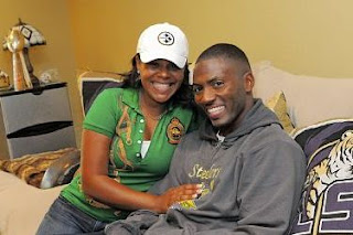 Ryan Clark With Wife
