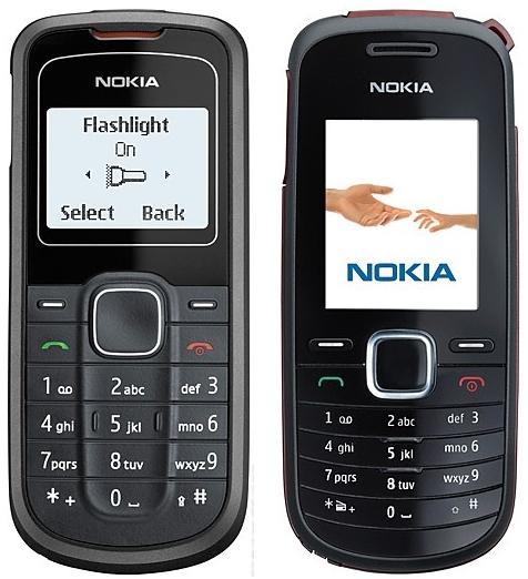 Gambar Nokia 1202:Handphone Nokia