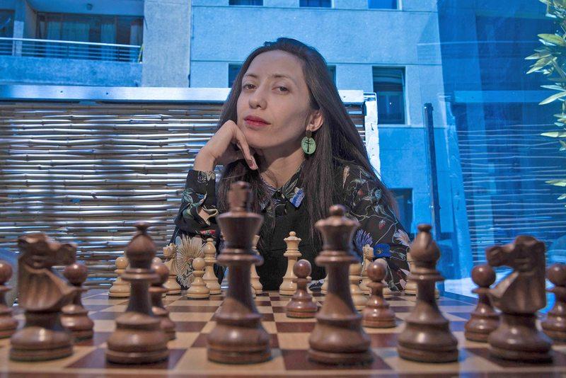 Damaris Abarca campeona chilena de ajedrez analiza qué significa gambito de dama