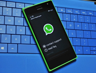 Gambar WhatsApp Windows Mobile