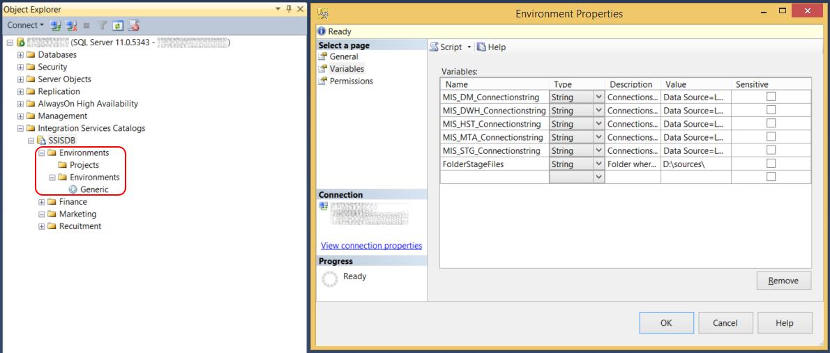Microsoft SQL Server Integration Services: Deploying environments