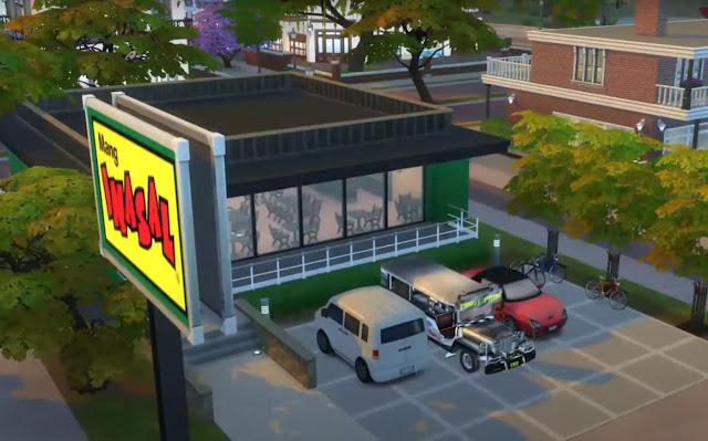 Sims 4 Pinoy Stuff Pack Mang Inasal Lot