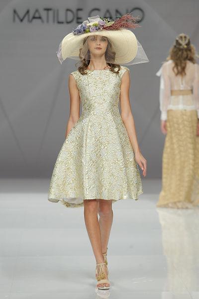Propuesta de Matilde Cano para 2017 - Foto: Barcelona Bridal Fashion Week