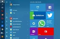Personalizzare il menu Start di Windows 10