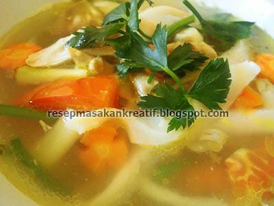Cara Membuat Sup Jamur Tiram Bening Resep RESEP SUP JAMUR TIRAM PUTIH KUAH BENING