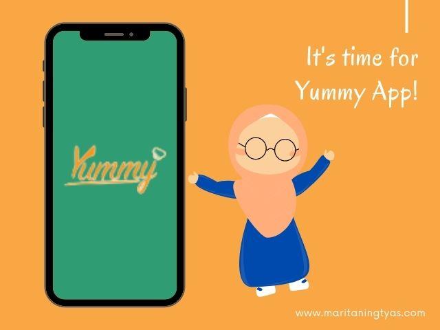 Yummy App dari IDN Media