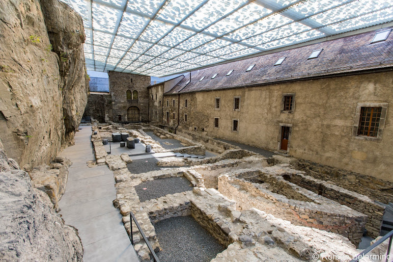 Royal Abbey of St-Maurice Archaeological Excavation Things to Do Martigny Switzerland