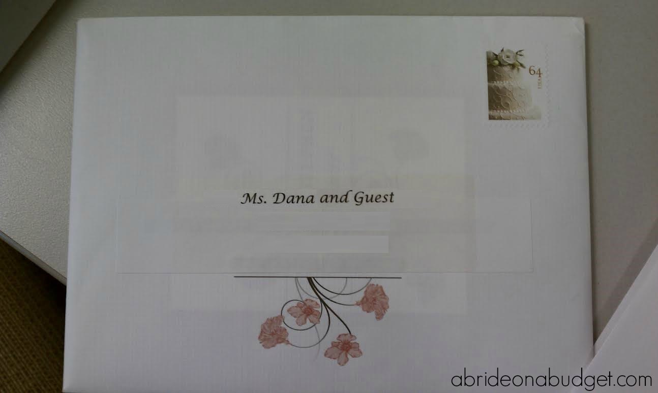 Do You Put Names On Wedding Invitations: Wording An RSVP Card To Limit Guests