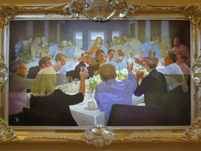 הסעודה האחרונה וסעודה בבית הלבן