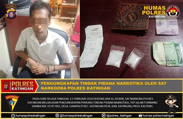 Hendak Melakukan Transaksi Narkoba, Pemuda ini Berhasil Ditangkap Polisi