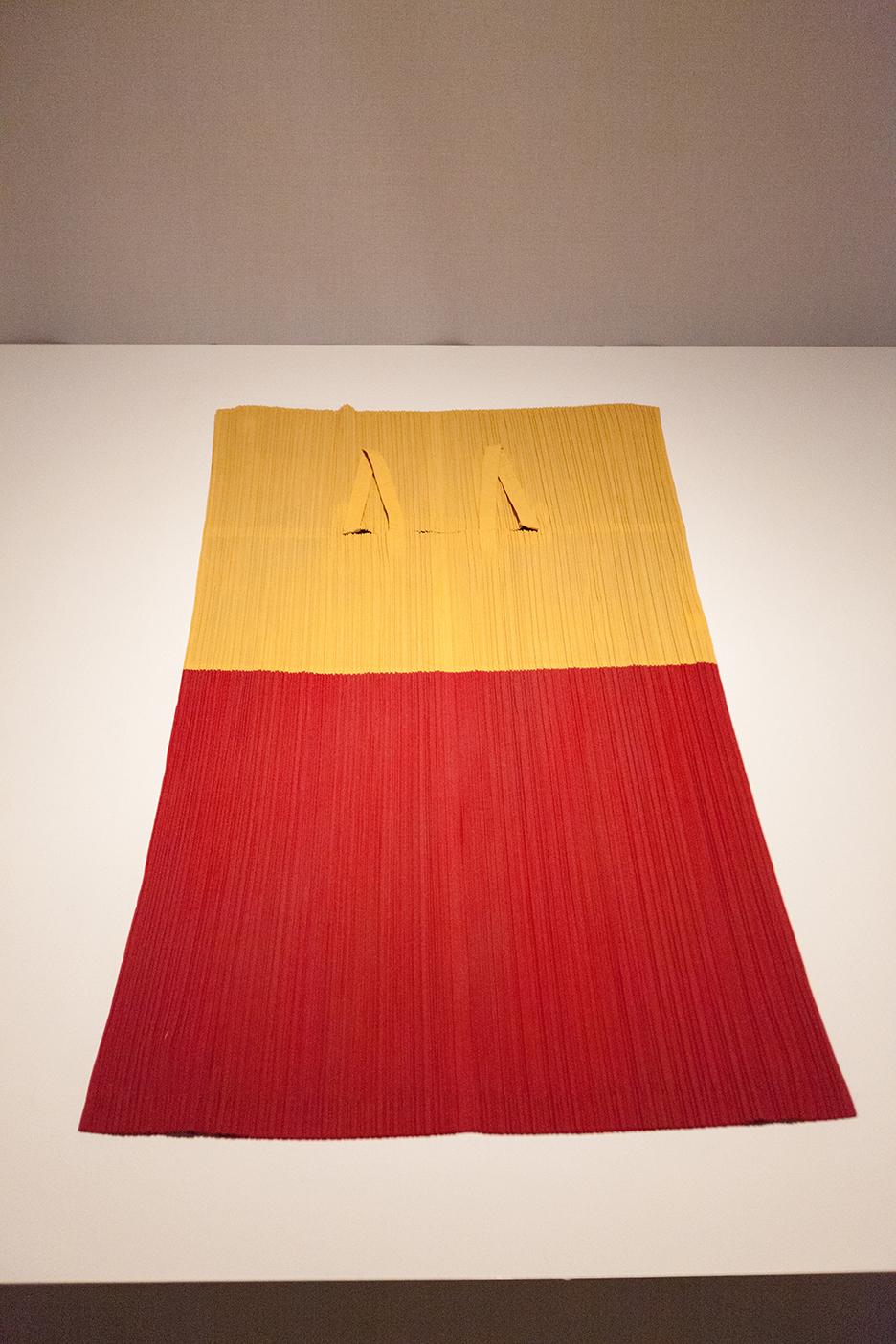 MIYAKE DESIGN STUDIOS 1990 - same dress flat