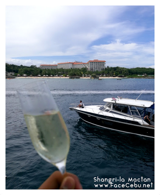Cheers to a luxurious weekend!