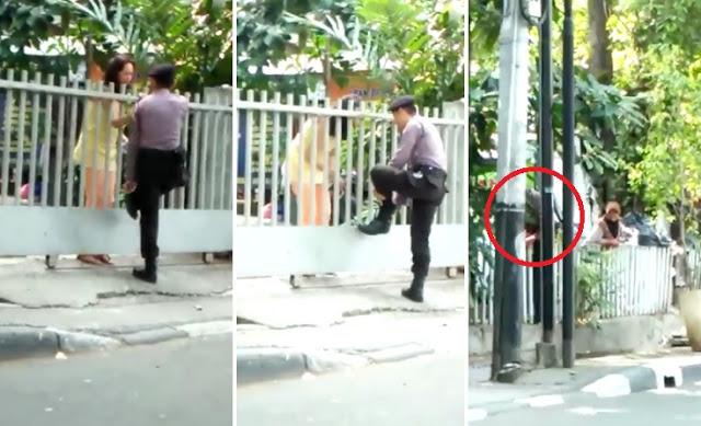 Video Polisi Mau Masuk Gedung LBH Ini Bikin Heboh Netizen Hingga Pimpinan MPR